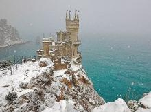 Winter holiday on the South Coast of the Crimea